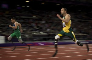 runner at paralympics
