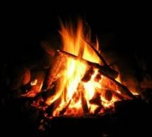 Junior Class Bonfire