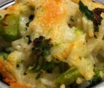 Couples Cooking Corner: Baked Cheddar Broccoli Rice Cups