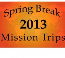 Spring Break Mission Trips