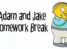 Adam and Jake Homework Break Episode 28 – Boogers and Fake Papyrus
