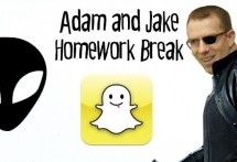 Adam and Jake Homework Break Episode 25 – Avenge Trivia, Snapchat Aliens