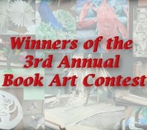 Winners of the 3rd Annual Book Art Contest