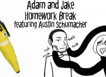 Adam and Jake Homework Break Episode 30 – Rasta Banana and Attractive Beards