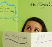 Ms. Morgan's Menu Episode 1 – Brownie in a Mug