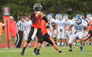 QB Brenden Chambers Photo from Greenville College Athletics