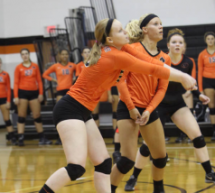 Greenville Volleyball Takes Home Opener
