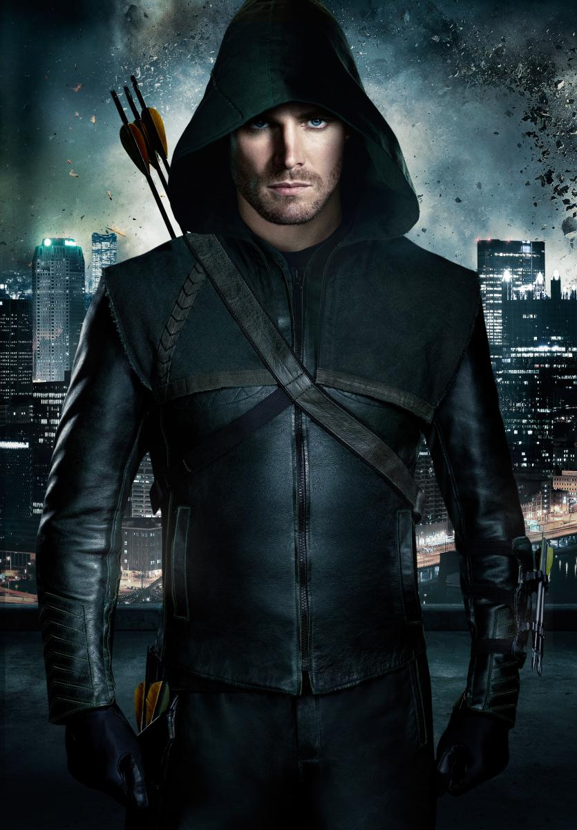 Stephen Amell as Green Arrow Media by dccomics.com