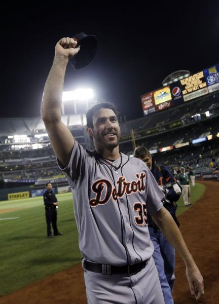 Justin Verlander wins NLDS game 5 Media by www.gazettenet.com