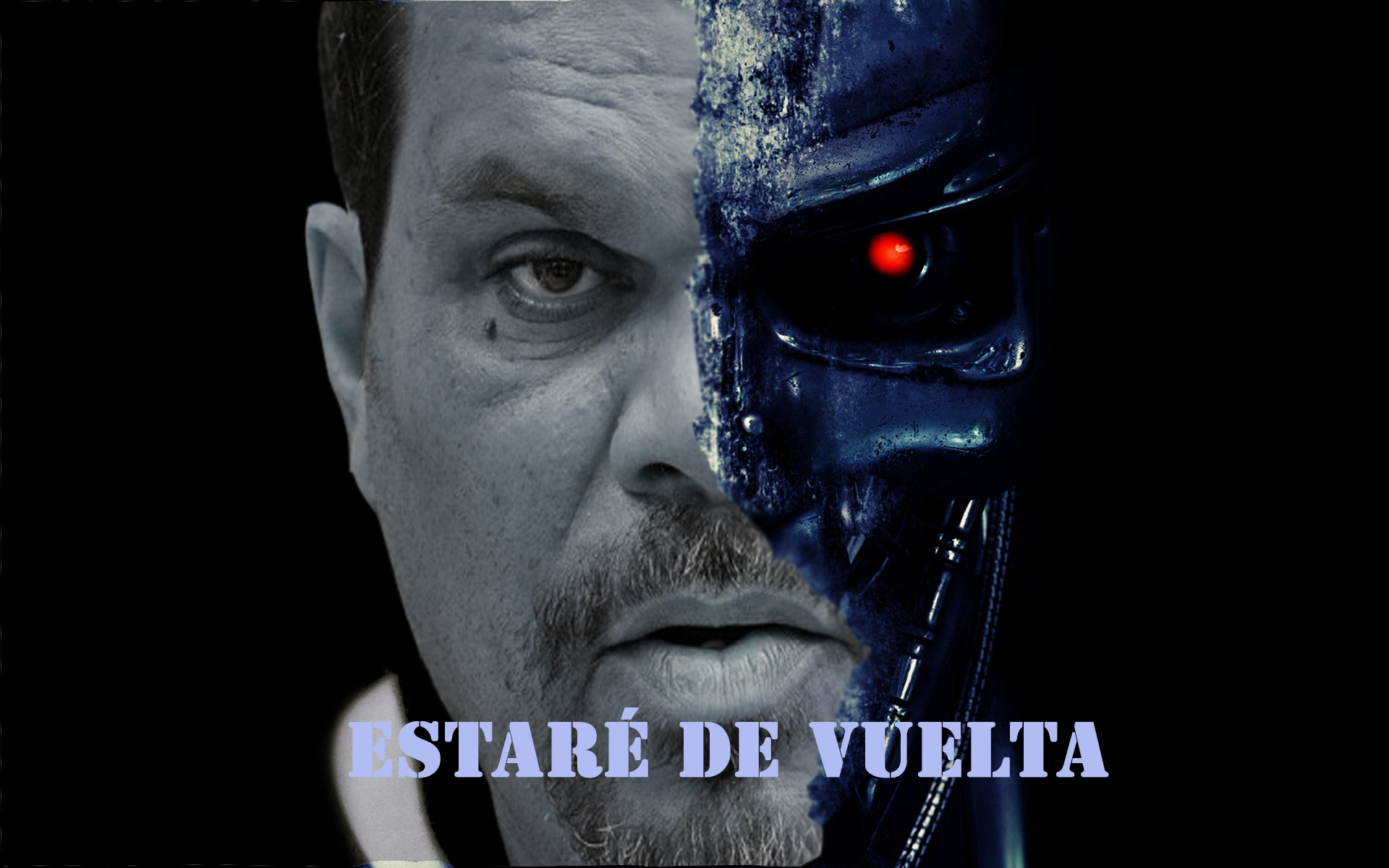 Luis Guzman as the Terminator Media by Austin Stephens