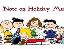 A Note on Holiday Music