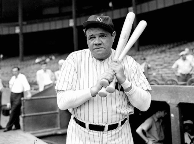 "Babe Ruth ""The Great Bambino"