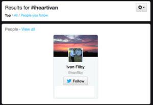 Dr. Ivan L Fliby's Twitter