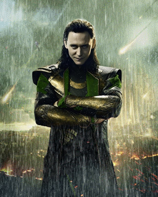 Tom Hiddleston as Loki Media by geektyrant.com