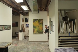 Annual Art Open House Studios.  Photo by Sean McFarland.
