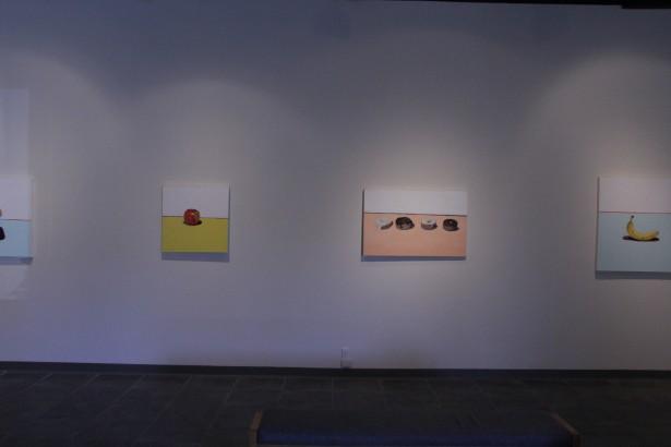 Rebecca Frazier's Aversion Exhibition. Photo by Sean McFarland.