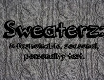 Sweaterz: A fashionable, seasonal personality test