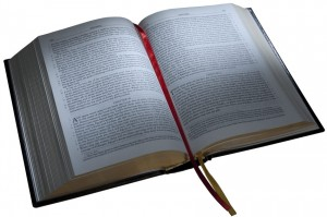 The Bible. Photo from www.baroniuspress.com.