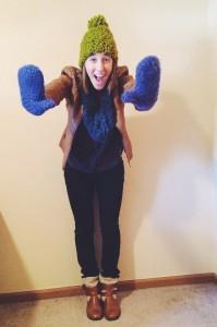 Alyssa Gosselin's Yarn Selfie