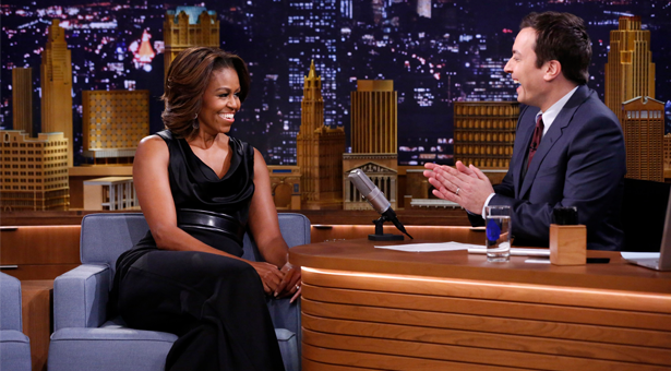 Michelle on The Tonight Show