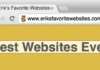Erik's Favorite Websites