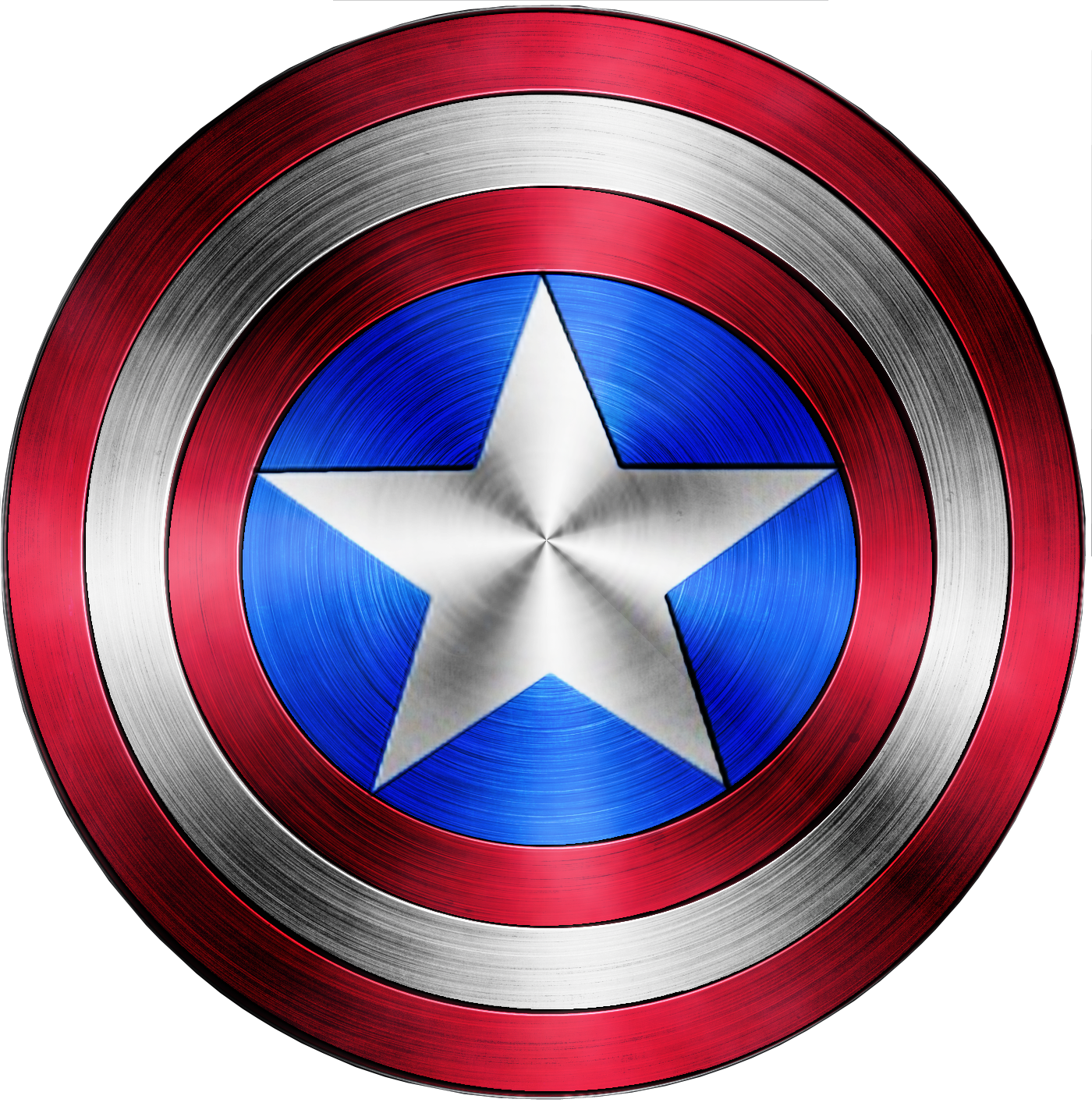 Captain America Logo Viewing Gallery