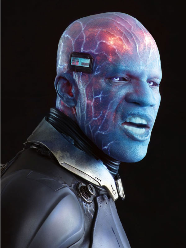 Jamie Foxx as Electro. Photo from cinemablend.com