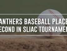 Panthers Baseball Takes Second in SLIAC Tournament Play