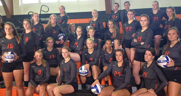 2014 GC Volleyball Team - Source: GC Volleyball Facebook