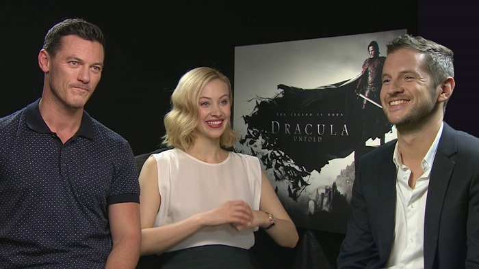 Interview with the cast of Dracula Untold. Source:www.themoviebit.com