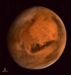 Photo of Mars. Source: www.isro.org
