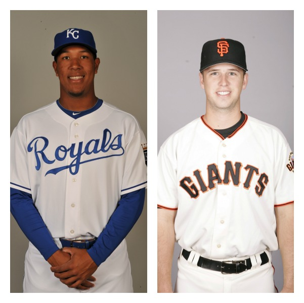 Salvador Perez vs Buster Posey Media by wapc.mlb.com