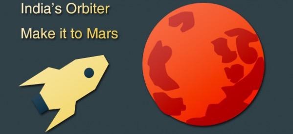 India's Mars Orbiter Makes it to Mars