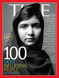 Malala Yousafzai on Time magazine Source:www.easonjordan.com