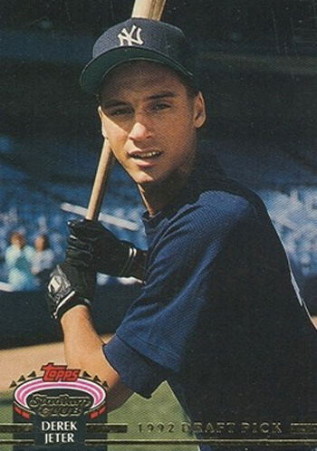 Derek Jeter's rookie card. Source: beckett.com