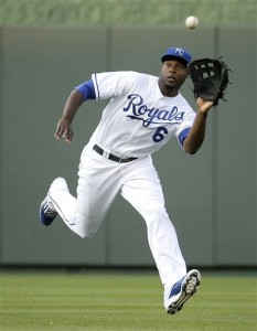 Lorenzo Cain's speed will be a factor in the Series Media by bigstory.ap.org