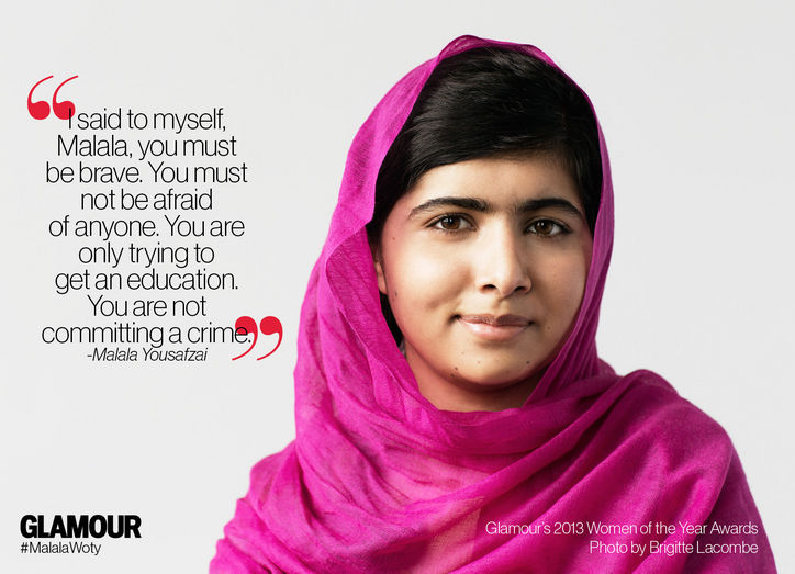 Quotes from Malala Yousafza Source: www.glamour.com