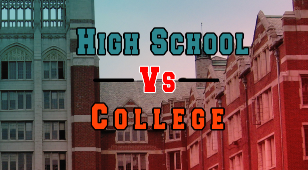high school vs college 11 essay High school vs college essay compare and contrast - only hq academic services provided by top professionals cooperate with our writers to receive the excellent.