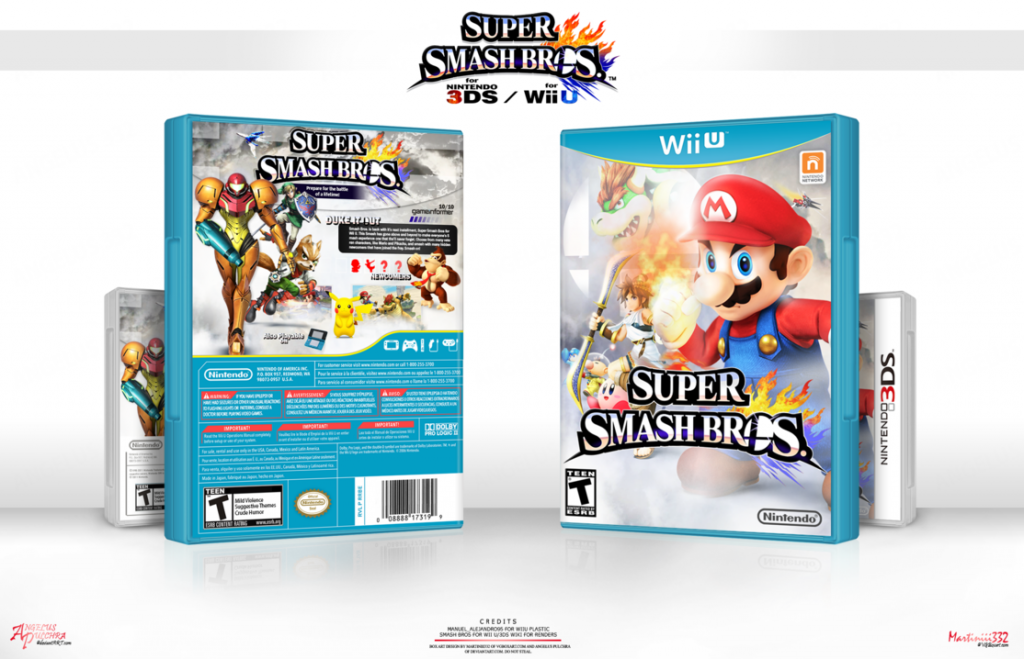 The cover of Super Smash Bros for Wii U. Source: www.ign.com