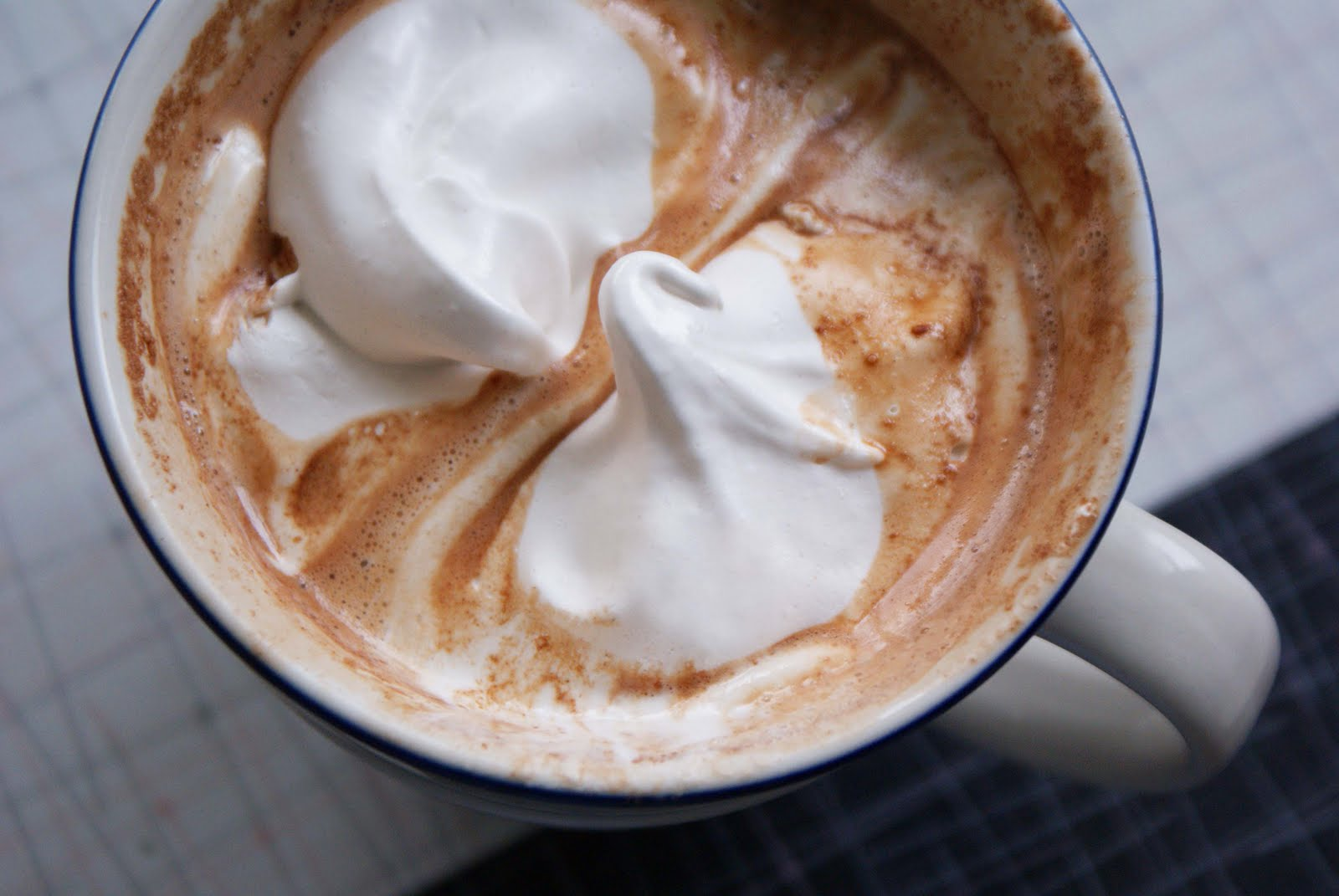 Try some delicious salted peanut butter hot chocolate!