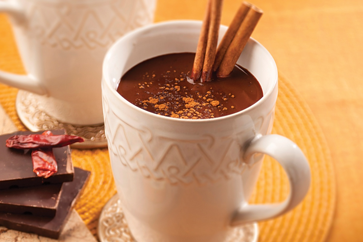 Switch it up and try some Aztec hot chocolate! Source:http://www.texascooppower.com