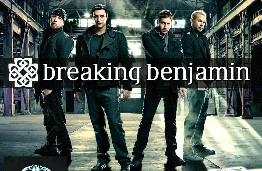 Jam out to a little Breaking Benjamin. Source:fan pop.com