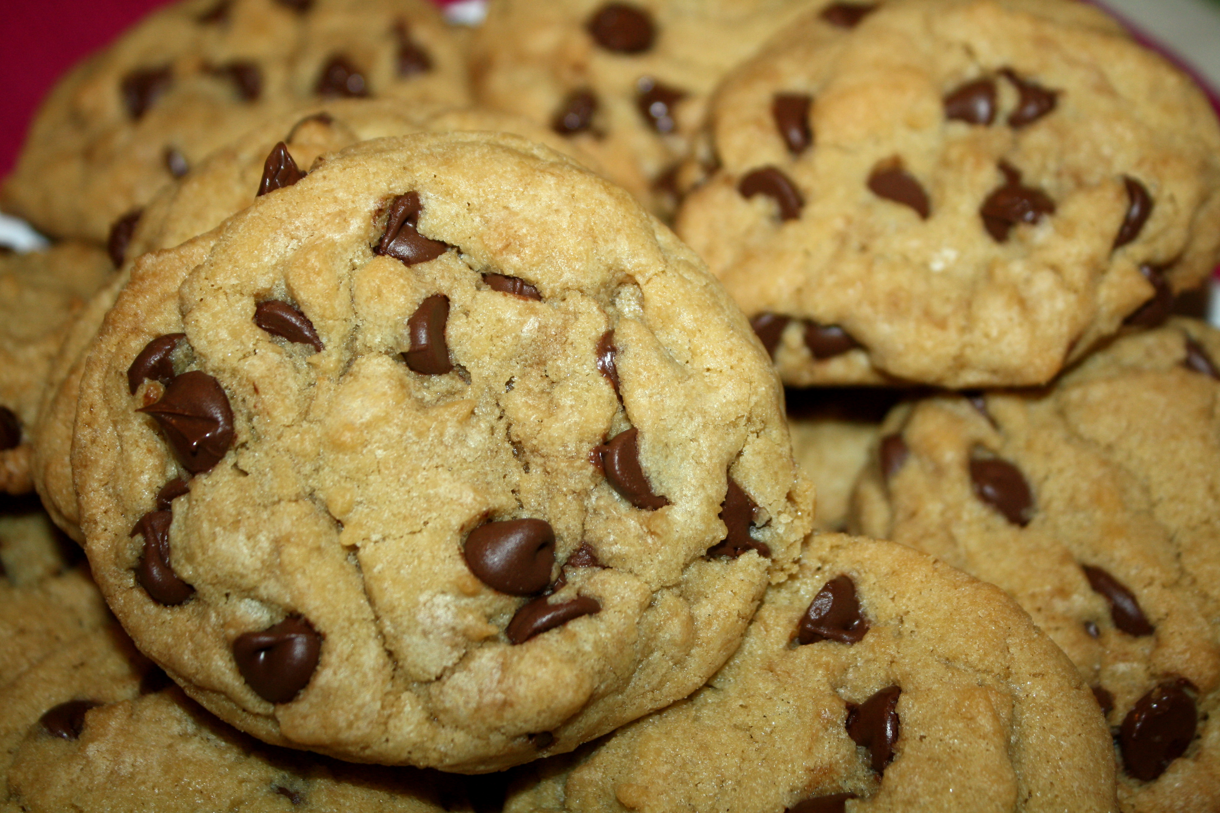 Baking cookies is always a good idea. Source:http://thequotablekitchen.com/thick-chewy-chocolate-chip-cookies/