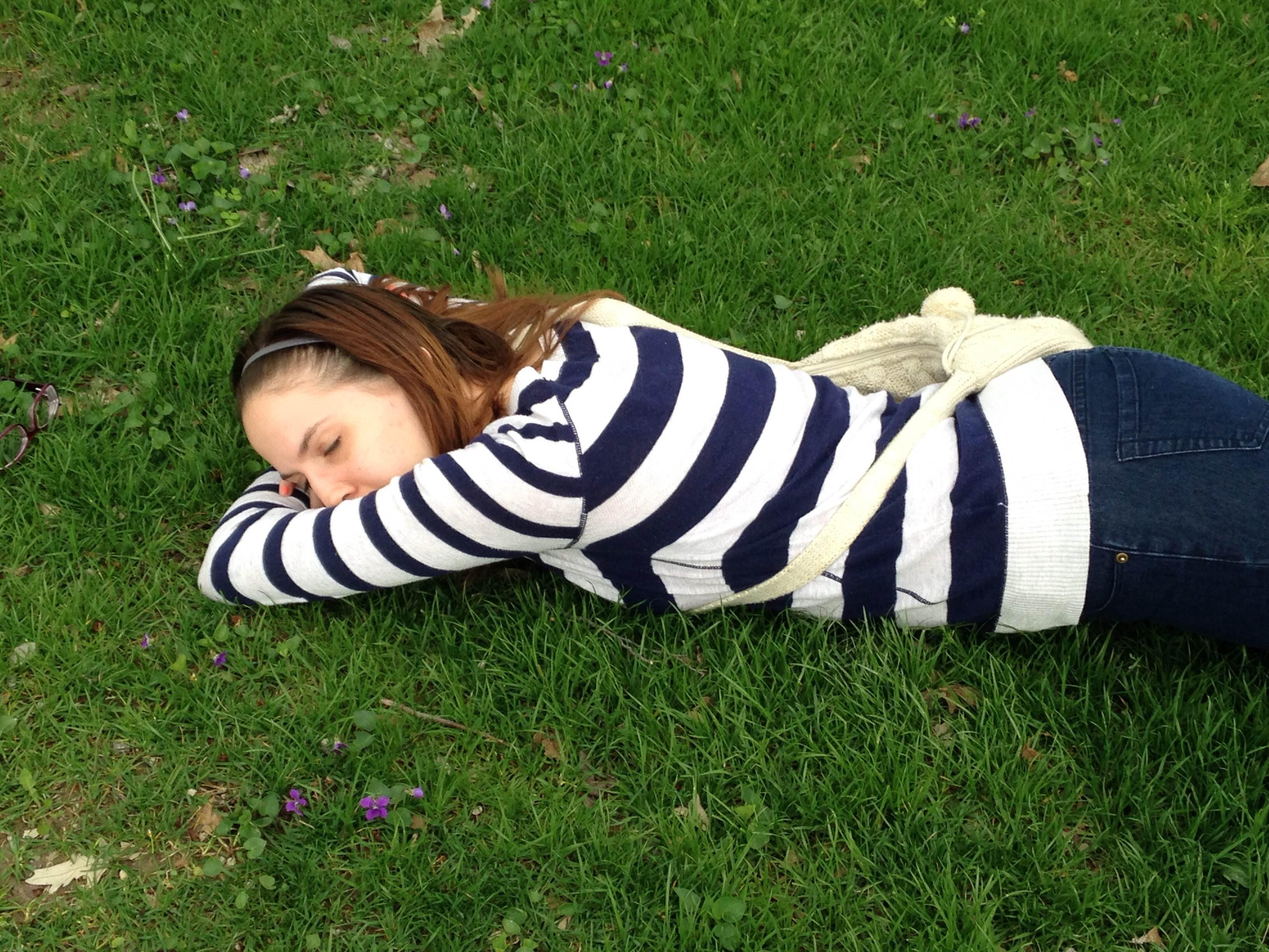 Sleeping Amanda