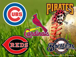 Image by Ryan Dunn. National League Central teams