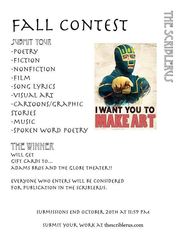Fall Contest Information! Source: www.facebook.com