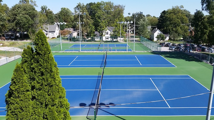 GC Tennis Courts Source: Thomas Hajny