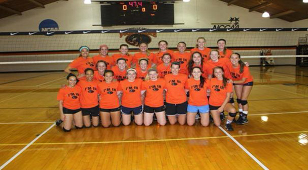 Photo from Greenville College Volleyball