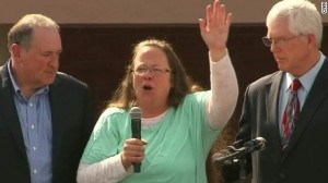 Kim Davis realeased from Kentucky Jail. Source: CNN.com
