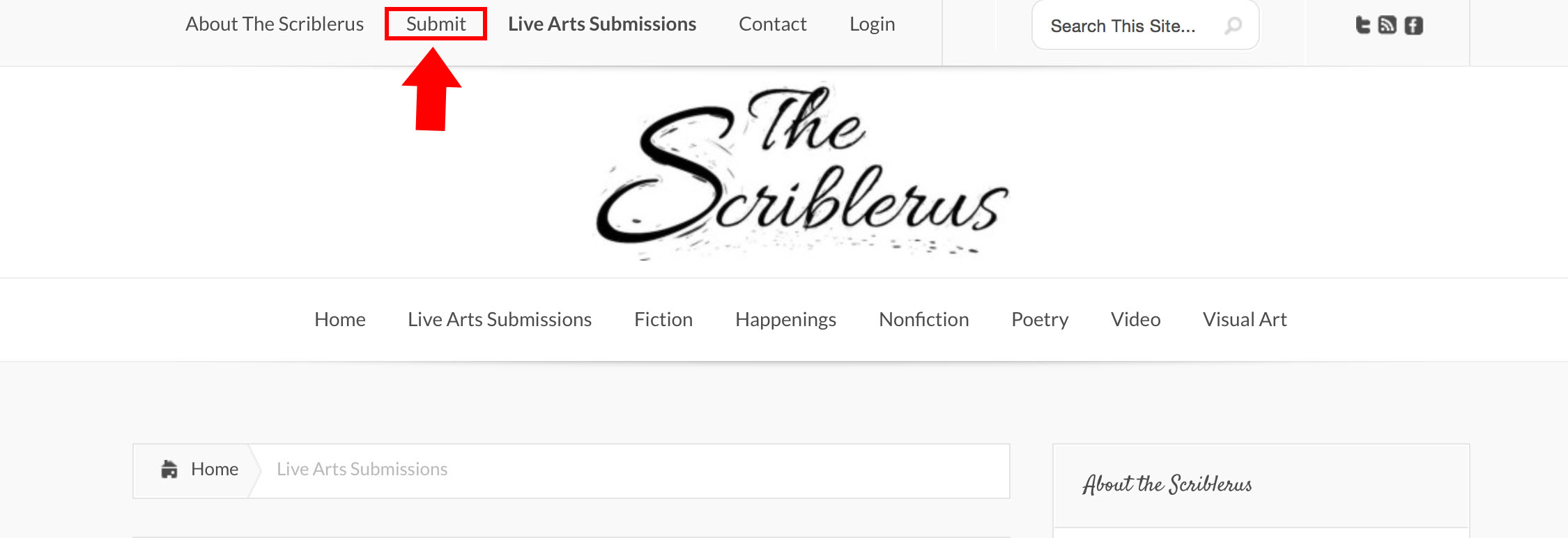 Hit that submit button now! Source:http://thescriblerus.com
